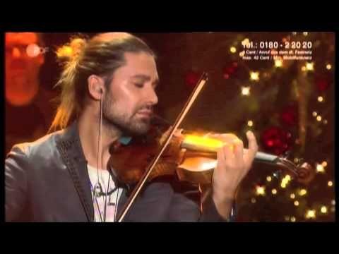 """DAVID GARRETT - CHRISTMAS 2012 - """"O Holy Night"""""""