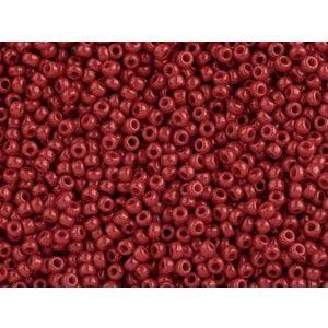 Toho kása 15/0, op. pepper red (45) - 5g - Kása - Gyöngyáruház
