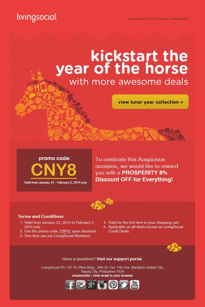Chinese New Year Email Template  Merry Christmas And Happy New Year