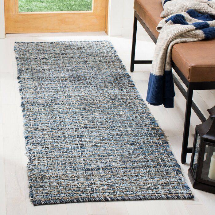 Orwell Geometric Handwoven Blue Gray Area Rug Blue Gray Area Rug Area Rugs Flat Weave
