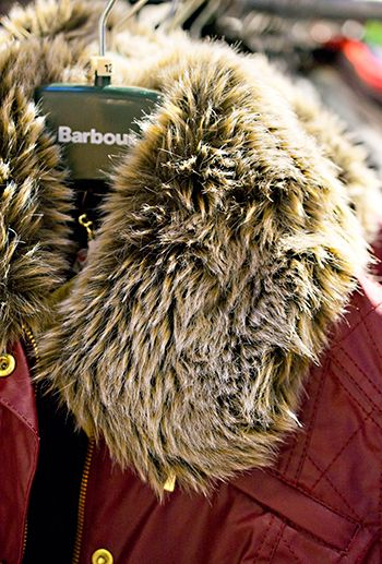 The Barbour Inc. Outlet Store in Milford, New Hampshire