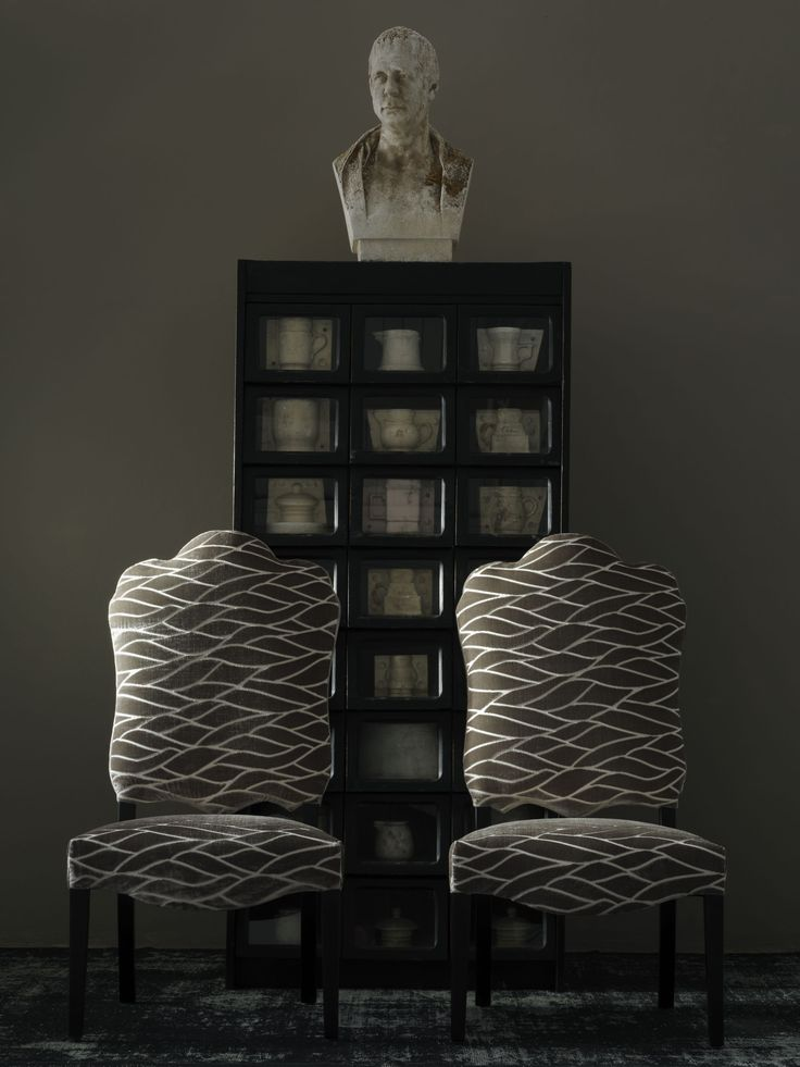 #andrewmartin #chair #furniture #pattern #organic #grey #neutral