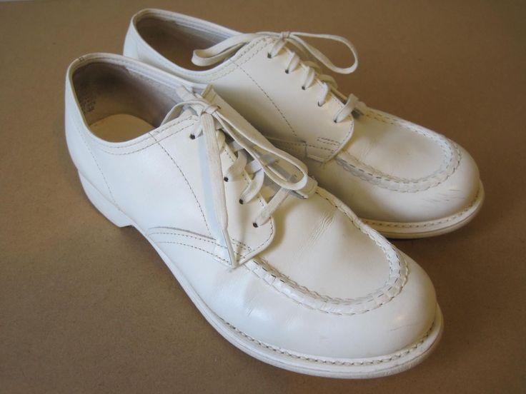 Bates White Shoes
