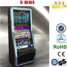 2014 estilo clásico igt/egt/aristocrat/wms/sega/bally/igt/atronic casino slot machine Precio 5 koi
