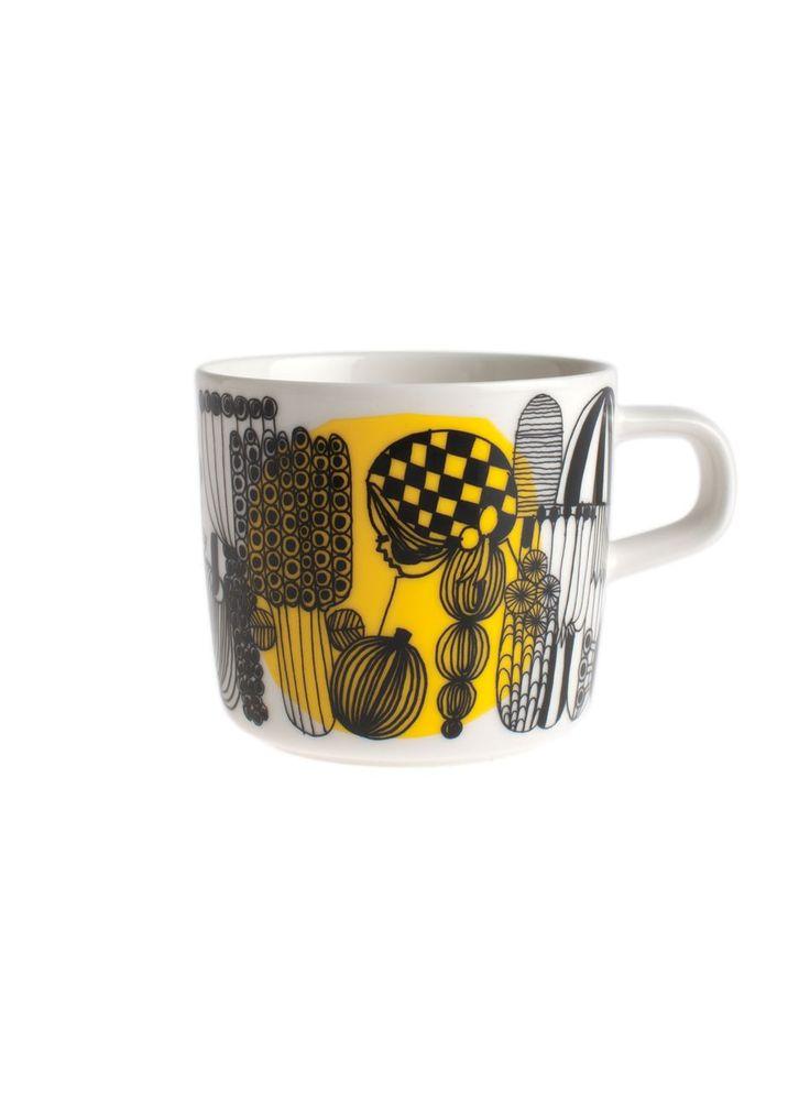 Oiva/Siirtolapuutarha-kahvikuppi, Marimekko