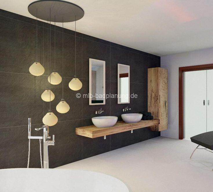 Die besten 17 Ideen zu Dunkelgraue Badezimmer auf ...
