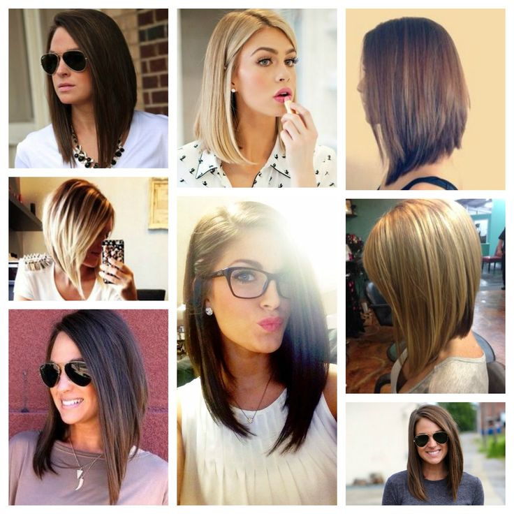 StyleNovice: Style Board: The Long Bob | recipes | Pinterest | Side bangs hairstyles, Long wavy ...