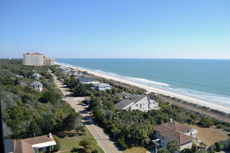 Grande Shores Ocean Resort has beautiful views of the Myrtle Beach coastline!