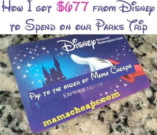 Disney Visa Gave Me a $677 Gift Card… Here's How! (AKA how we rock the Disney Visa rewards to cover our meals and more in the parks... you can too!!)