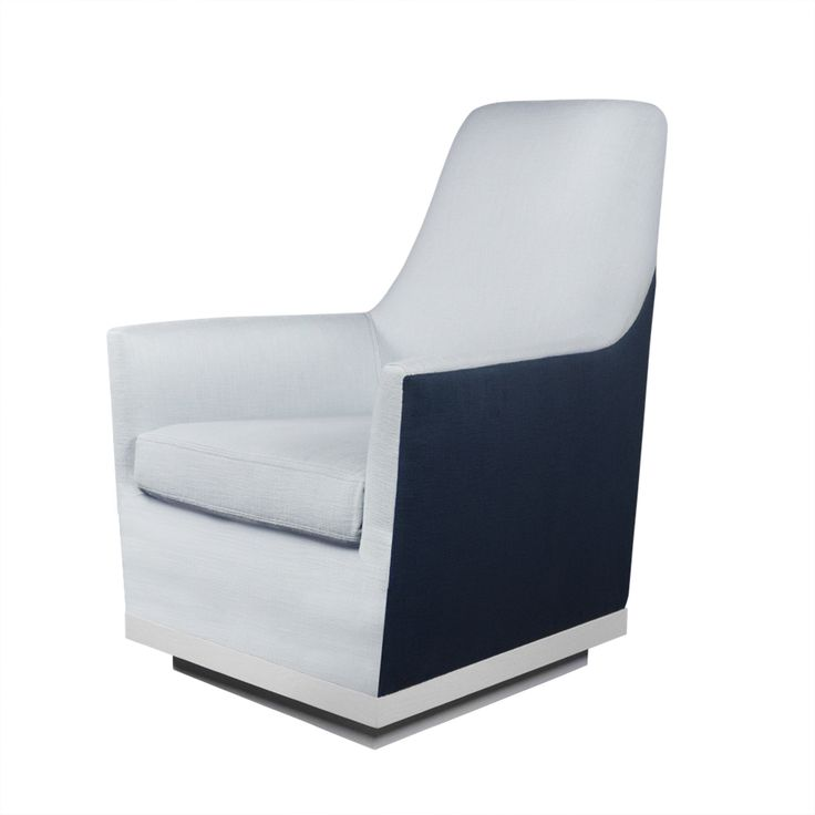Buy Fin Glider by ducduc - Made-to-Order designer Furniture from Dering Hall's collection of Contemporary Mid-Century / Modern Transitional Lounge Chairs.