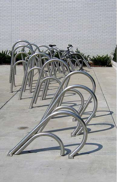 Office Supply Cycle Stations : Paperclip Bike Rack