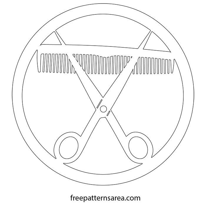 Comb And Scissors Scroll Saw Free Pdf Patterns