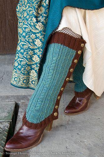 Extraordinary Machine spats: detail by chronographia, via Flickr