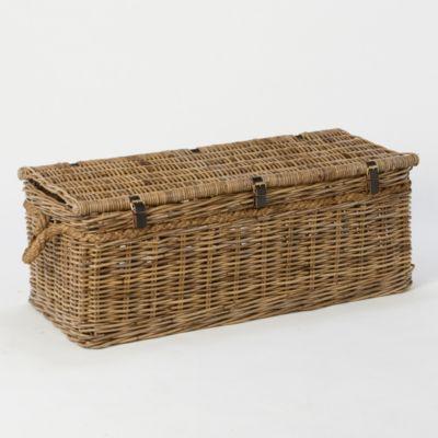 Terrain Rattan Trunk Basket #shopterrain