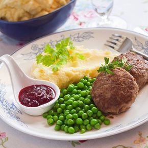 Wallenbergare med potatispuré