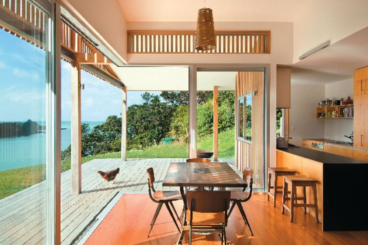 Leigh House, Leigh, Auckland, Tennent + Brown Architects.