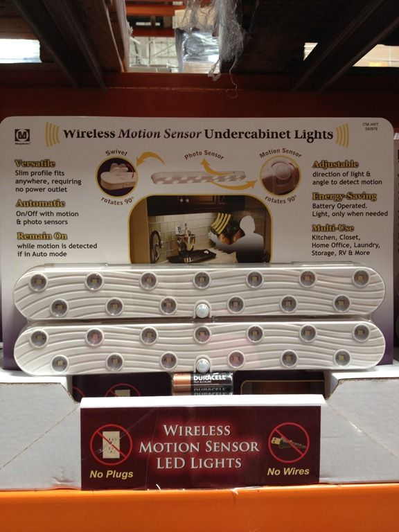 wireless motion sensor cabinet lights