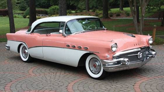 1956 Buick Roadmaster Four-Door Riviera Sedan