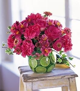Flowers and Limes by ciaobella50.com