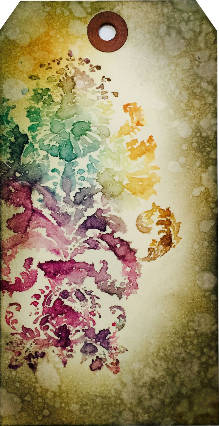 Tim Holtz's Creative Chemistry101- Brushless Watercolor
