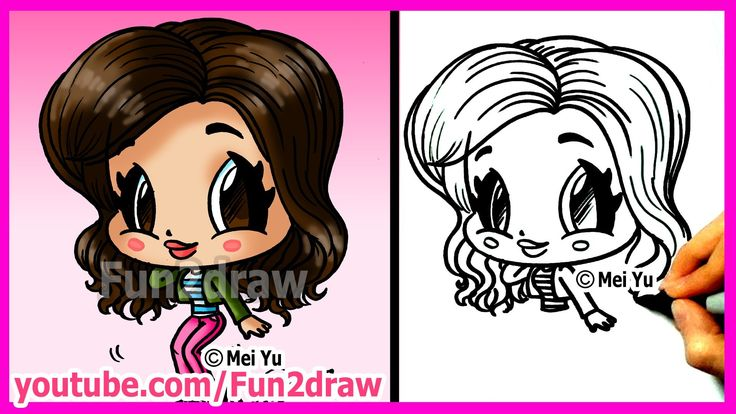 How to draw cartoons zendaya coleman fun2draw people for How to draw cute people