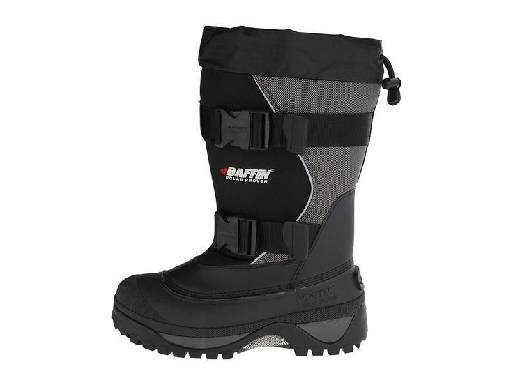 Baffin Wolf Men's Cold Weather Boots Black/Pewter