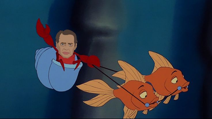 And Steve Buscemi as Sebastian.
