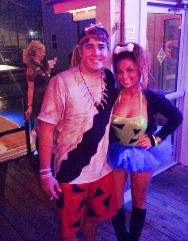 pebbles and bam bam couples costumes