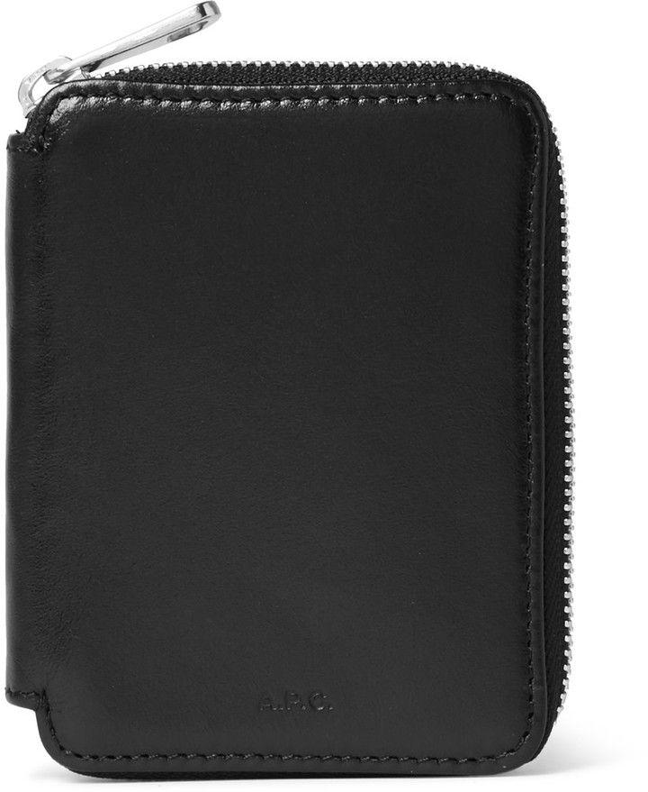 A.P.C. Grégoire Leather Wallet