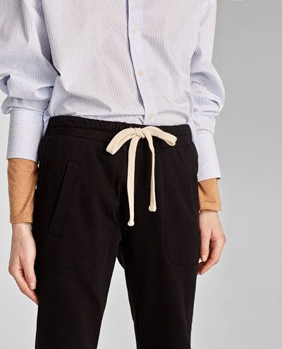 Image 6 of JOGGING TROUSERS from Zara