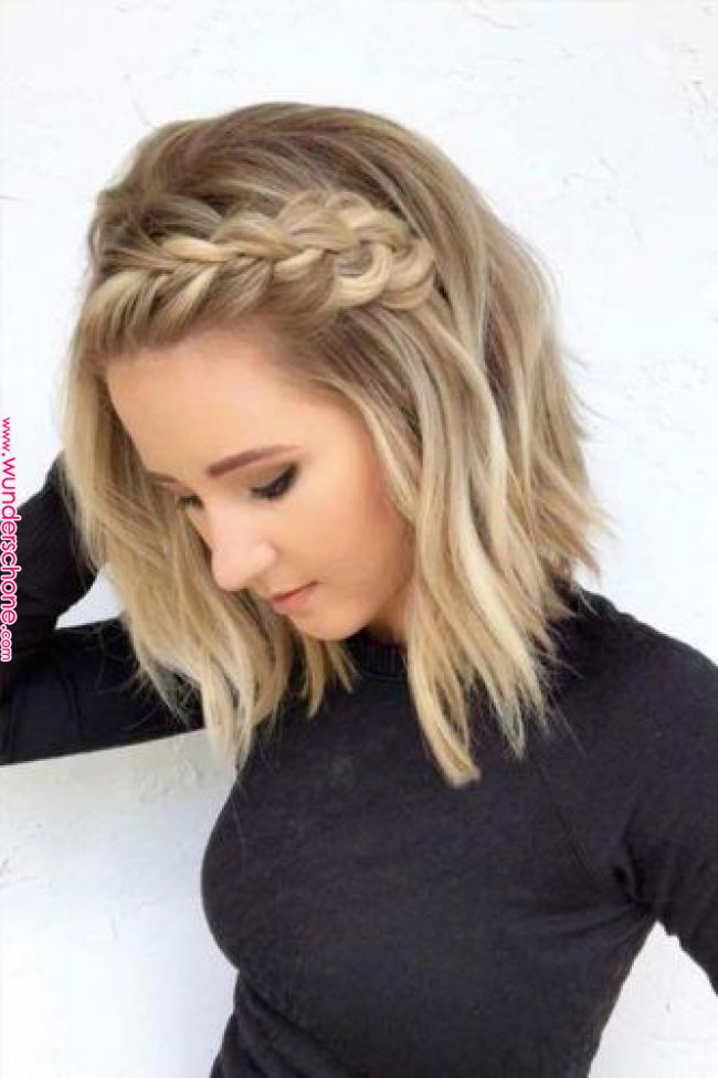 TOP 70 penteados para casamento em cabelo curto (2019) | Lovely Eyes | Blonde…