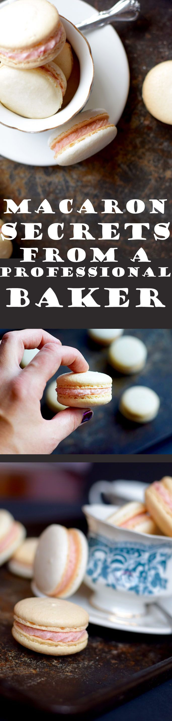 Learn all the macaron secrets that you'll need to make successful macarons from your first batch (from someone who makes 600 macarons a week).