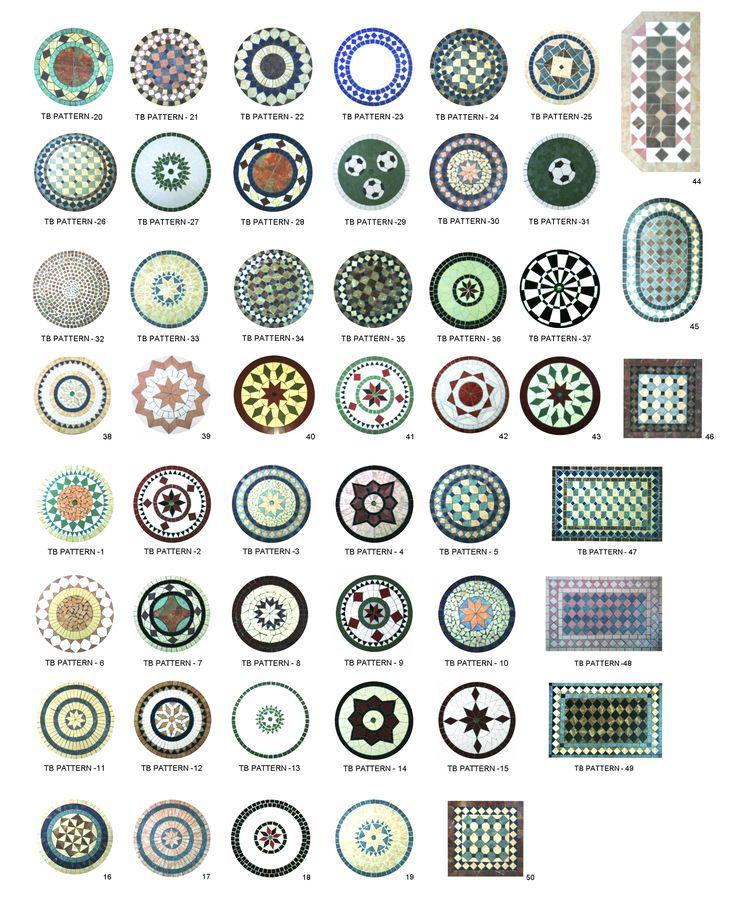 Muchas formas para mesa redonda