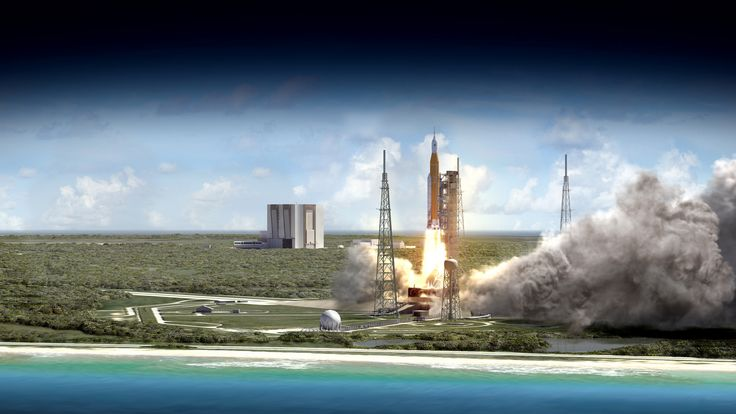 NASA Space Launch System's First Flight to Send Small Sci-Tech Satellites Into Space RELEASE