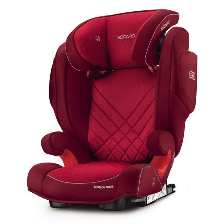 Автокресло Recaro Recaro Автокресло Monza Nova 2 Seatfix Indy Red (красное)