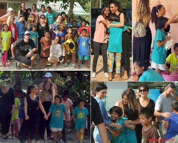 Keluarga #KARDASHIAN Lakukan Amal Hanya Untuk Syuting Reality Show-nya?