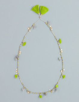 Long Tassel Necklace Boden