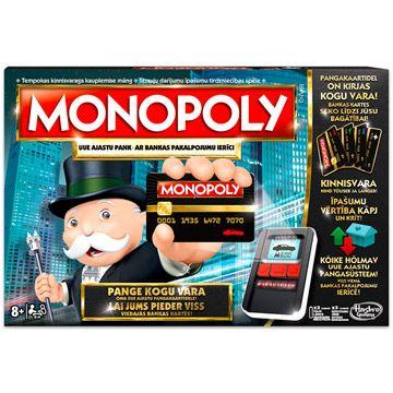 Monopoly: teljes körű bankolással családi társasjáték