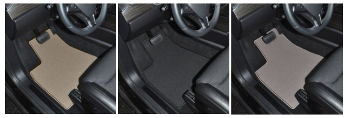 GGBAILEY Classic Loop Car Mats are OEM quality automotive fade and stain resistant 20 oz nylon carpet. Offered in three different colors of Beige, Black and Grey. These custom fit mats are both luxurious and durable. All mats include the highest quality OEM standard anti-slip automotive backing and are equipped with our patented anchoring system or factory compatible mat anchoring devices.