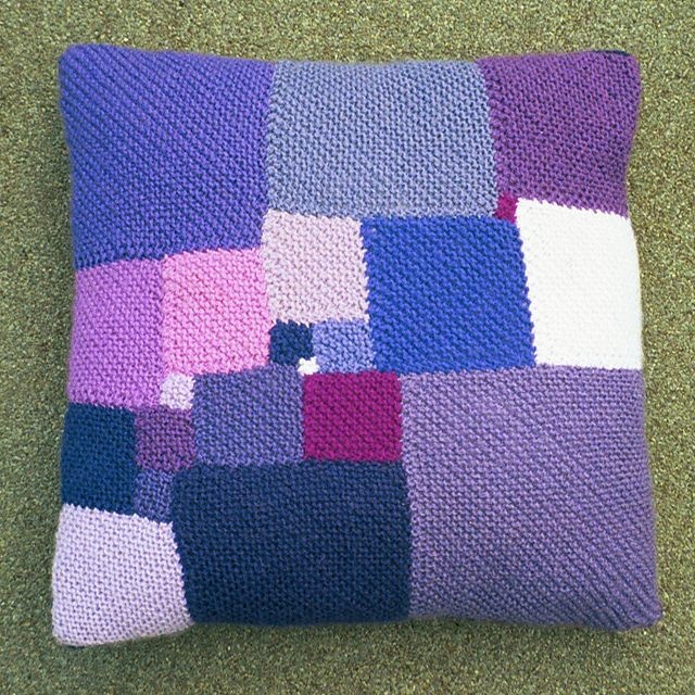 Square Deal - Cushion with 21 different squares to make a large square (In 12 Pillows of Wisdom)