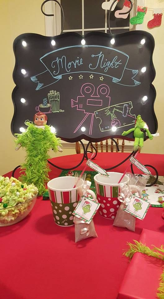 Welcome Back Elf or Elf Return Week Ideas with Grinch Who Stole Christmas