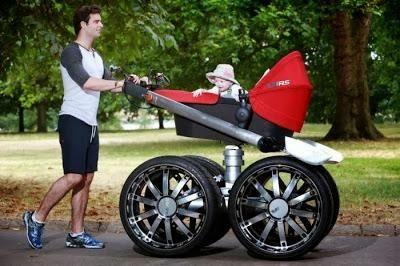 Passeggino per fare sport e portare a spasso i neonati