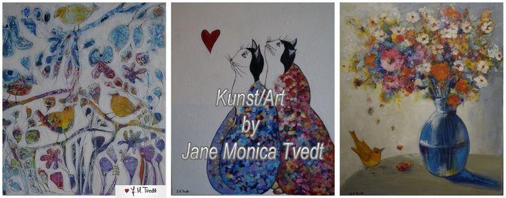 """Ny kunst side på facebook, koselig om du tar turen innom og """"LIKE"""" siden https://www.facebook.com/JaneMonicaTvedt/"""