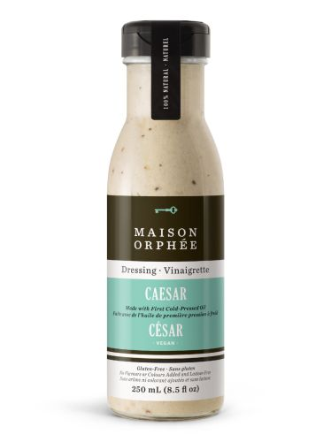 I received this salad dressing right before we left for our vacation over the holidays so didn't get the chance to try it until this week.  Wow, this is one of the best bottled salad dressings I have ever had and my husband, Bill agrees!  I received the Caesar flavor to try.  Because we are vegan, I usually make my own version of Caesar dressing because I haven't been able to find a healthy/vegan brand out there, until now.  It has a really nice smell and taste.  Fab!