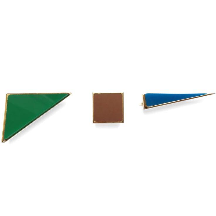 Sylvio Giardina Brooch #fashion #brooch #accessories #sylviogiardina #jewellery #valerydemure [discover more at www.valerydemure.com]