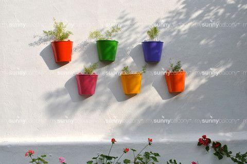 Metal Wall-mounted Pots – The mysunnybalcony e-store