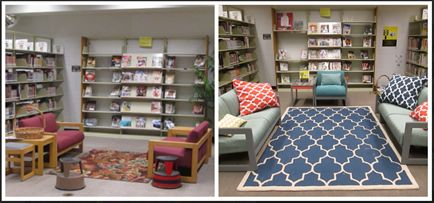 Taking inspiration from the thrifty library design hashtag #macgyverlibrarianship, a high school librarian freshened up her space on a tight budget. Check out what she did and how much she spent.