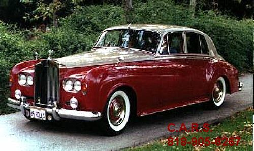 1964 Rolls Royce, I love to sport this car around.                                                                                                                                                     More