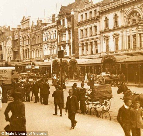New app allows users to see Melbourne's city streets in the 1800s