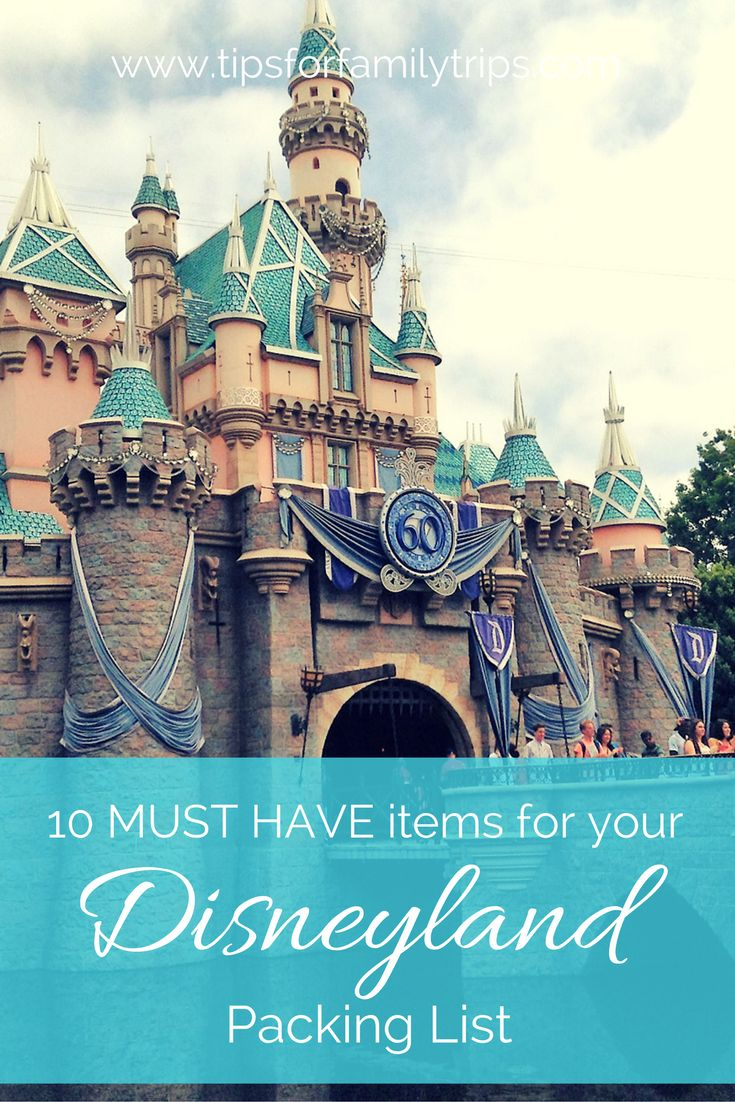 10 Must Have Makeup Palettes For 2017: 10 MUST HAVE Items For Your Disneyland Packing List